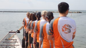 water therapy benefits highlighted by propel physiotherapy dragon boat team
